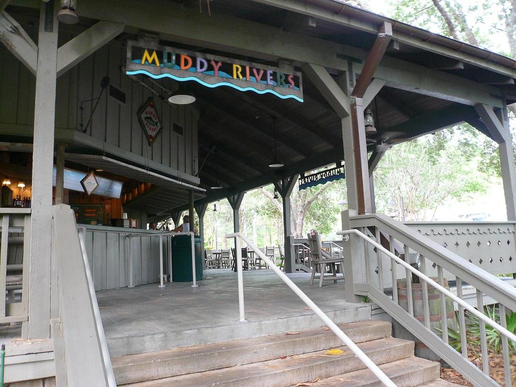 Muddy Rivers Walt Disney World Port Orleans Hotel Riverside