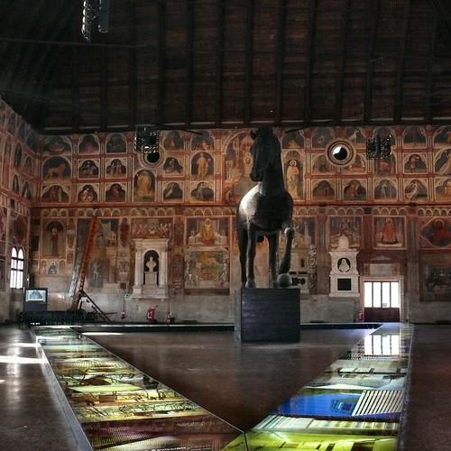TROJANesque city hall of Padova