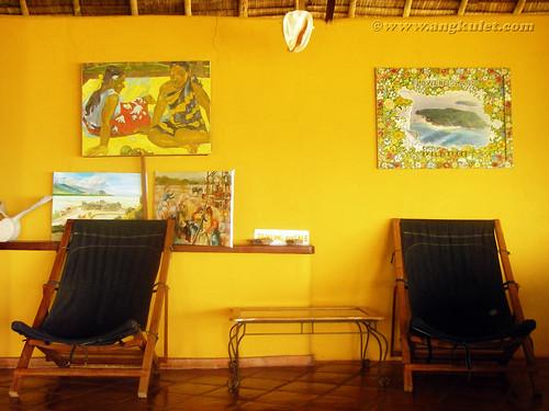 Hang out area, Casa Rosa, Taytay, Palawan
