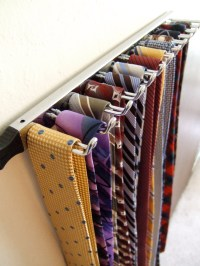 Tie Rack (Closetmaid) | pretty cool... and simple. (I got ...