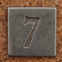 Pewter Number 7