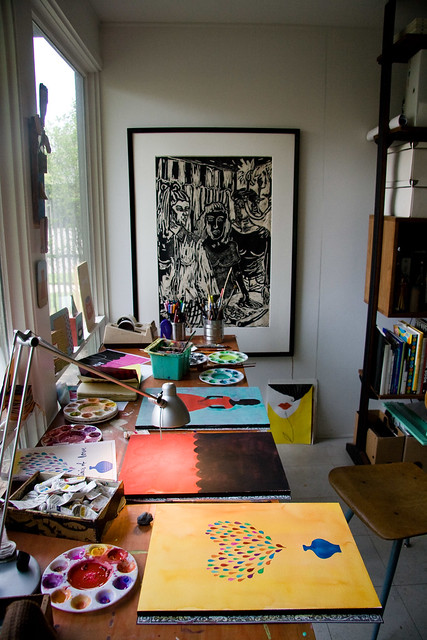 Home OfficeArt Studio Inspiration  a gallery on Flickr