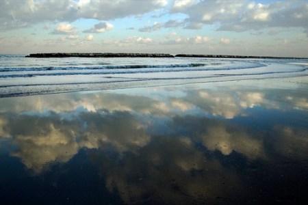 winter reflection riflesso inverno sea clouds