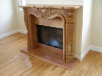 Stone Fireplace Mantel Installation | Flickr - Photo Sharing!