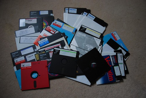 5.25 inch floppy disks by avlxyz, on Flickr