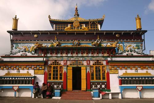 The Yigacholing Monastery at Ghum, Darjeeling