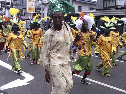 Lagos Carnival 2011 - Oworonsoki Parade (Nigerian Drag Queen)