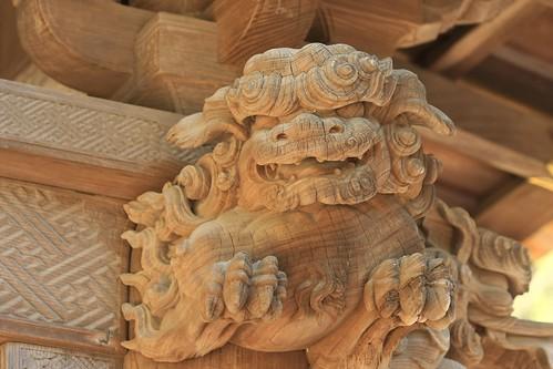 Temple Gate Detail, Engakuji Temple