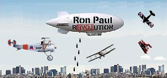 Ron Paul Trial Balloon Shot Down Over I-85