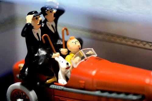 Tintin miniature