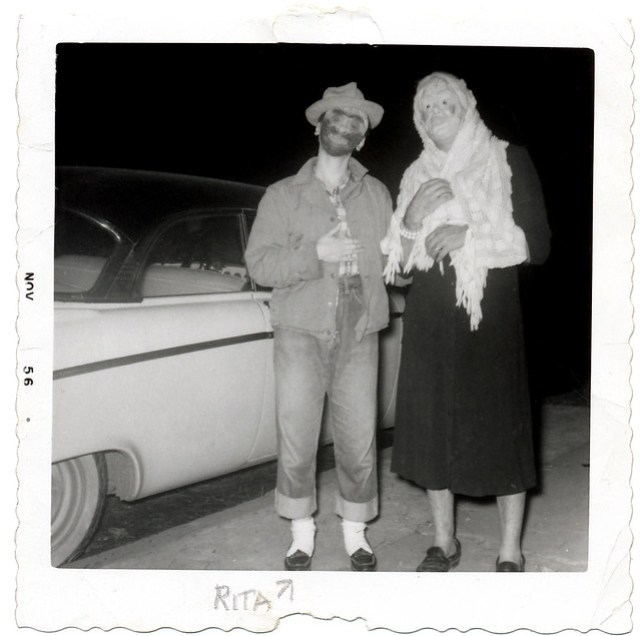 Halloween in the 50's