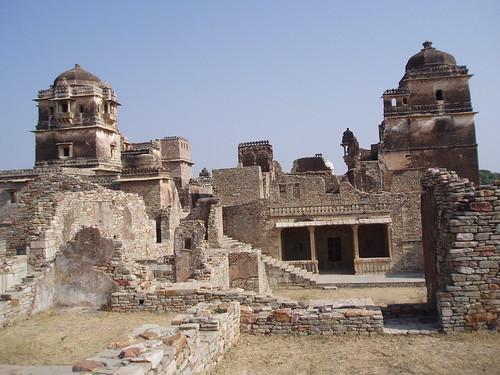 Chittorgarh- old fort ruins