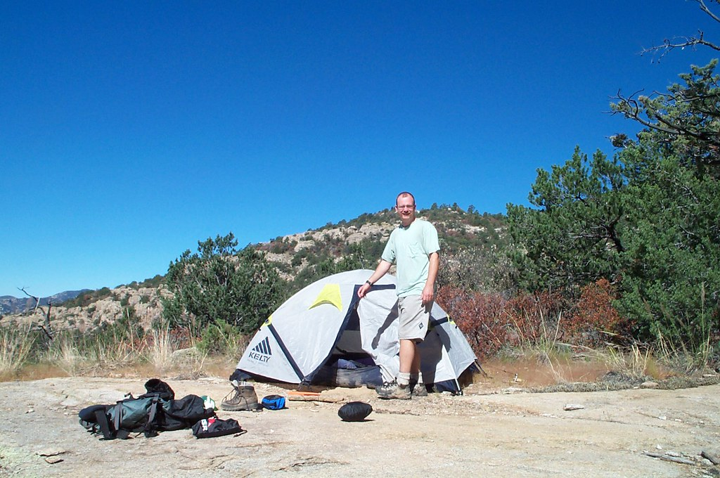 0209 Camping above Pine Canyon
