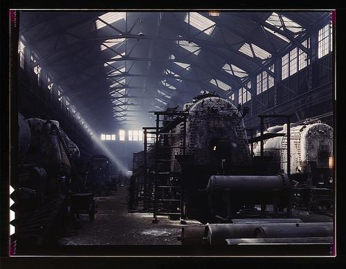 Santa Fe R.R. locomotive shops, Topeka, Kansas  (LOC)
