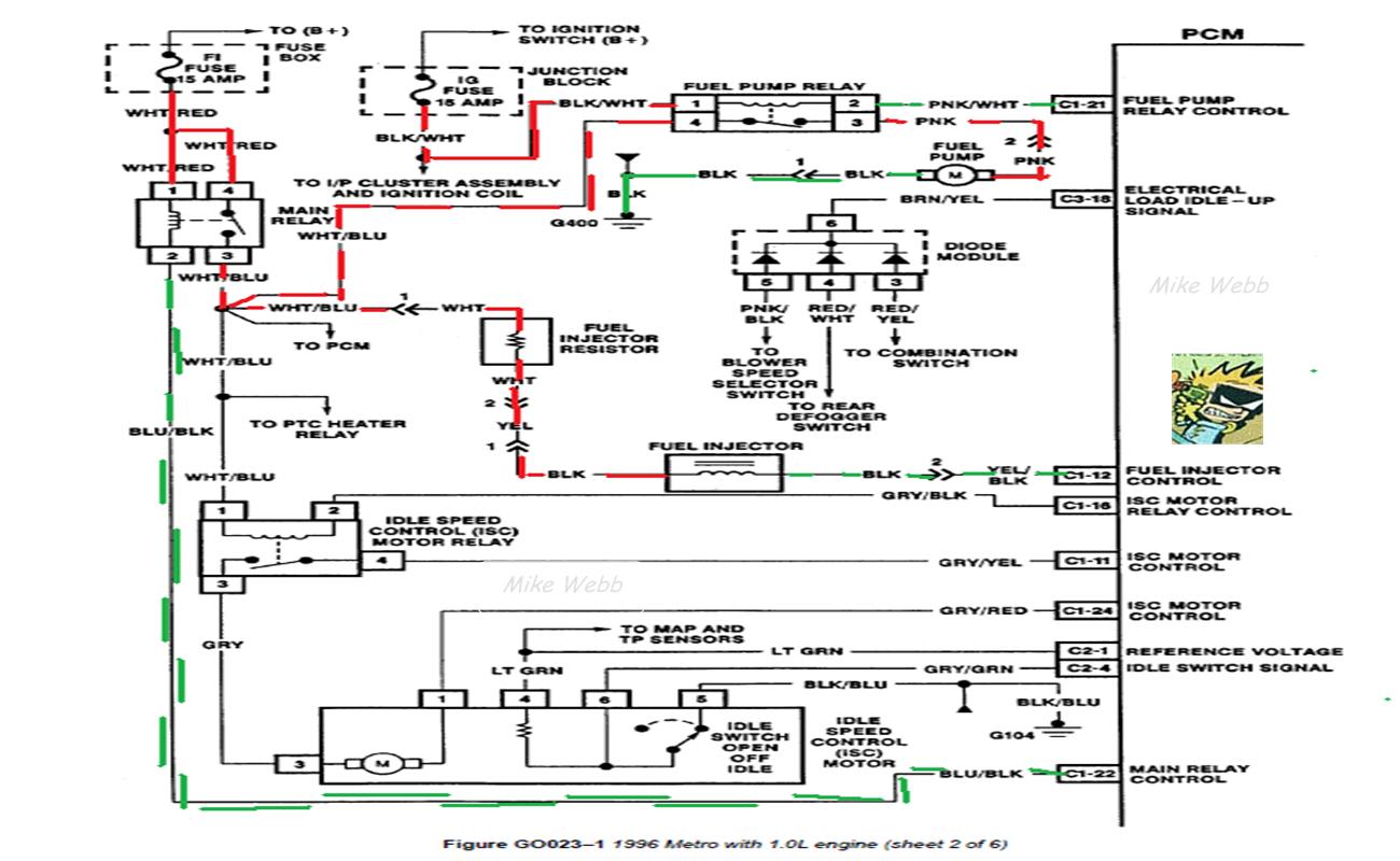 geo delco radio wiring diagram 2008 jeep wrangler stereo metro on alternator