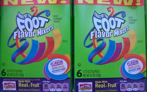 Fruit by the Food Flavor Mixes