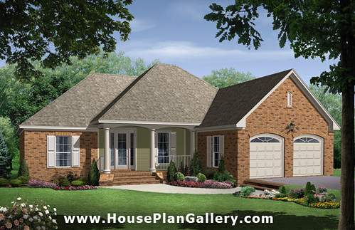 HousePlanGallery.com - HPG-1750B - House Plans