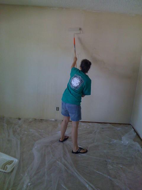 Me Washing the Walls
