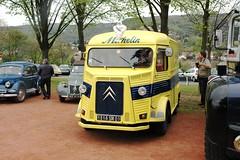 Tube Citroën type H/HY - nez de cochon