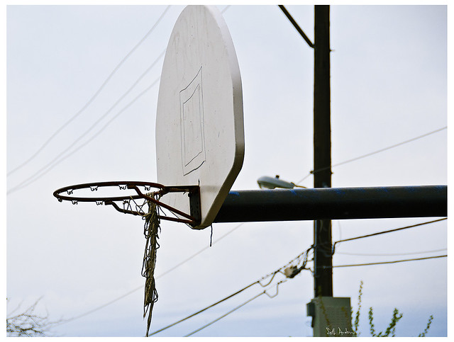 Cabrini Green Basketball Hoop