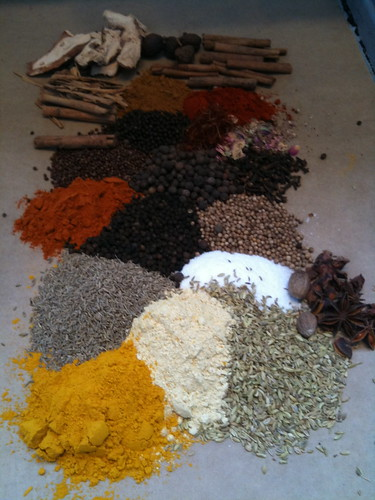 Ras el-hanout, Moroccan chicken recipe with couscous