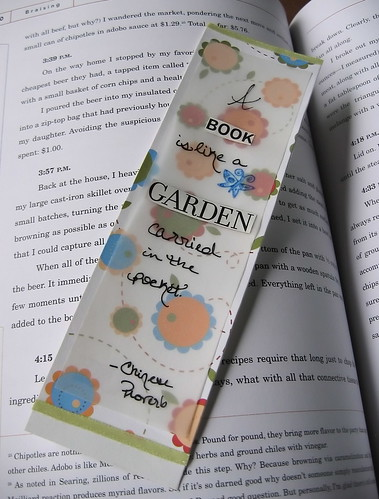Bookmark: A Book, A Garden