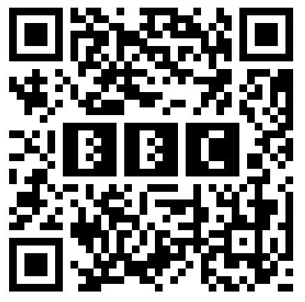 BBC Logo in QR Code