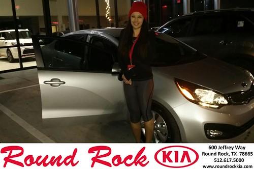 Thank you to Christa Morales on your new 2013 #Kia #Rio from Fernando Fernandez and everyone at Round Rock Kia! #NewCar by RoundRockKia