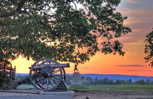 The Angle, Cemetery Ridge, Gettysburg, PA