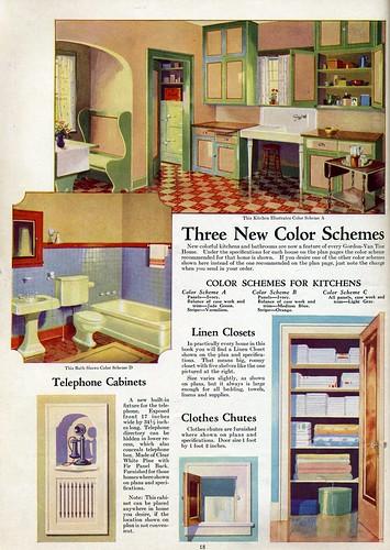 1930s Interiors Vintage Color Schemes