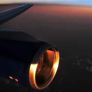 evening glow ...