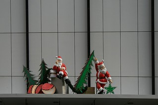 Impersonators of Santa Claus