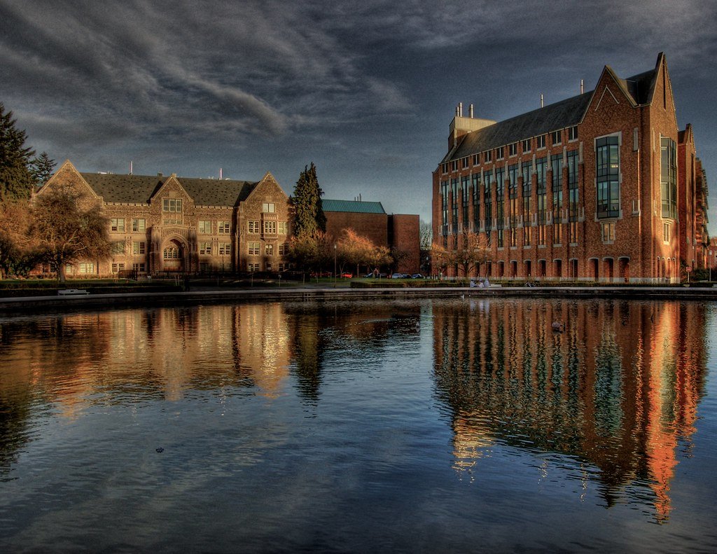 University of Washington from the Fountain - a photo on Flickriver