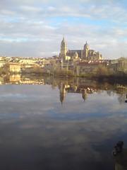 Vista matutina de Salamanca
