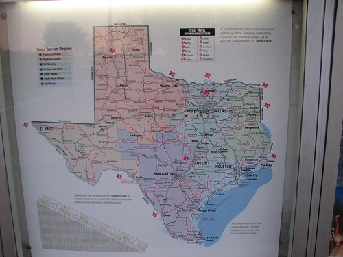 Rest Stop Map