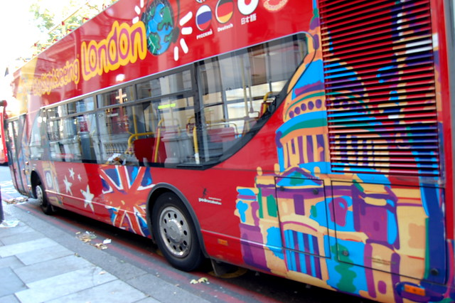 city sightseeing bus @ london