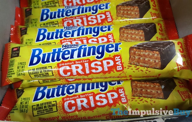 Nestle Butterfinger Peanut Butter Crisp Bar