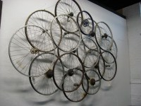Bike wheel art | Flickr - Photo Sharing!