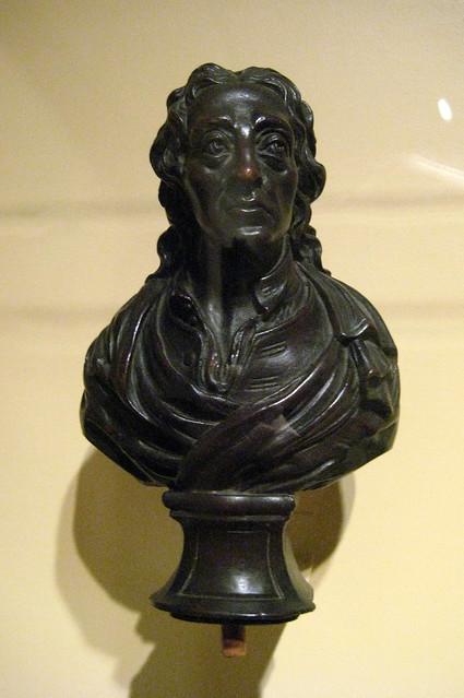 NYC  Metropolitan Museum of New York Finial Bust of John