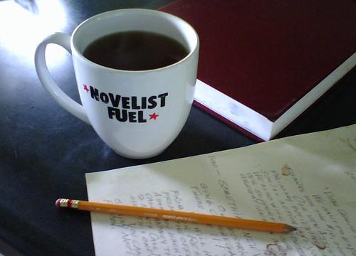 Frantic writing