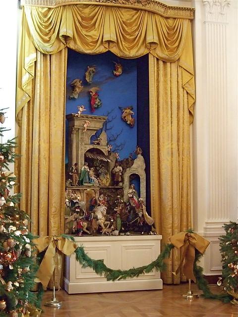 Nativity Scene East Reception Room White House  Flickr