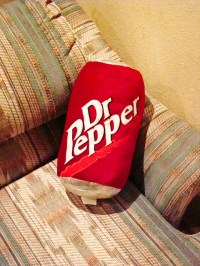 Dr. Pepper pillow | Thatch House San Antonio, TX | By ...