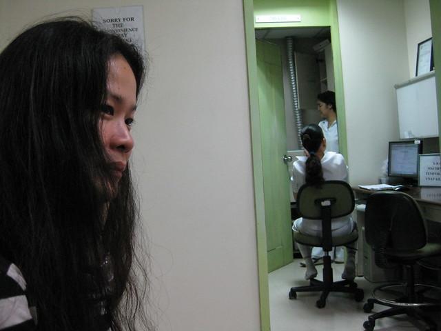 JoAnn at the clinic