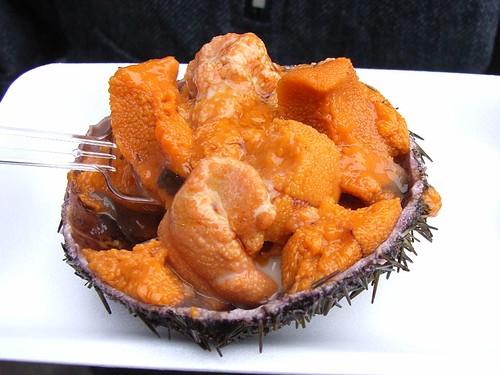 초스피드 성게알밥
