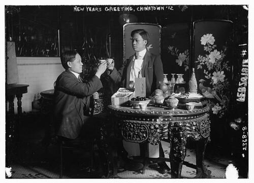 New Years Greeting, Chinatown 1912 (LOC)