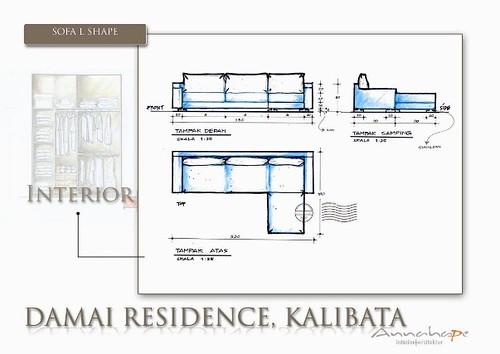 Design Ruang Keluarga Desain Sofa Ruang Keluarga Sofa L