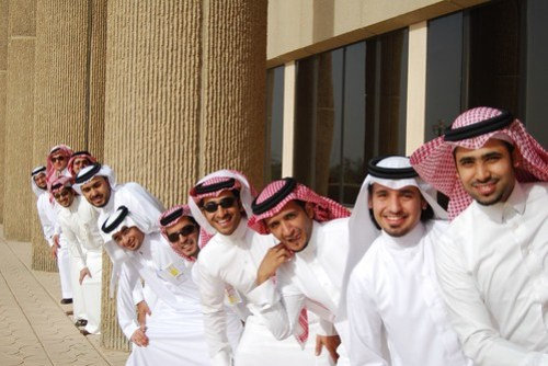 Group shots - Saudi Graduates by Ben SJ, on Flickr