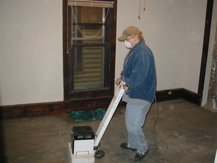 Floor sanding & painting