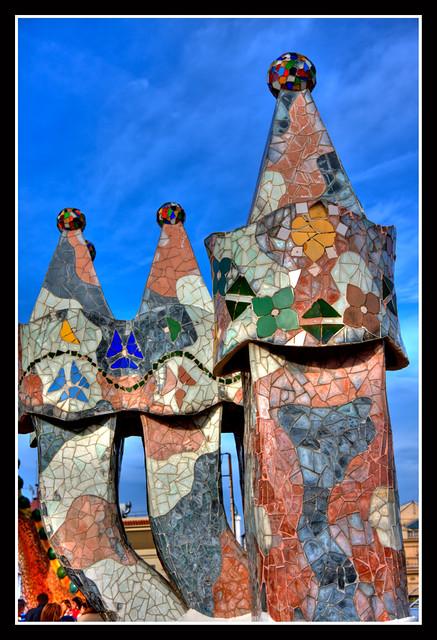 Casa Batllo  3 Imagenes Raw tratadas con Photomatix El te  Flickr  Photo Sharing