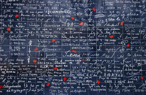 Montmartre, Paris (I love you wall)